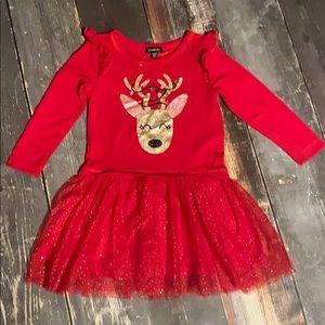 Girls size 4T Christmas Dress NWOT